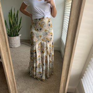 Free People Maxi Skirt